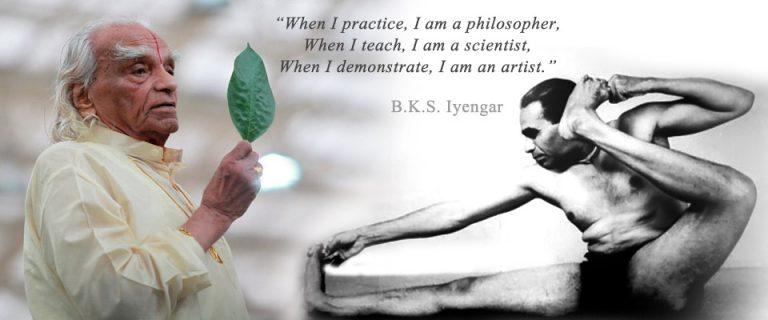bks iyengar, utemeljitelj iyengar joge